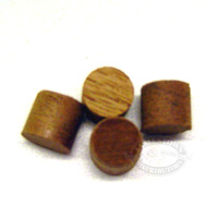 SA Mahogany Wood Bungs / Plugs