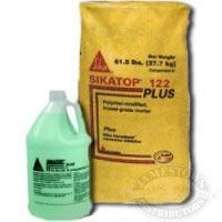SikaTop 122 PLUS Polymer Modified, Trowel Grade Mortar