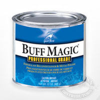 Buff Magic fiberglass and metal polish