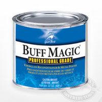 Buff Magic fiberglass and metal polish