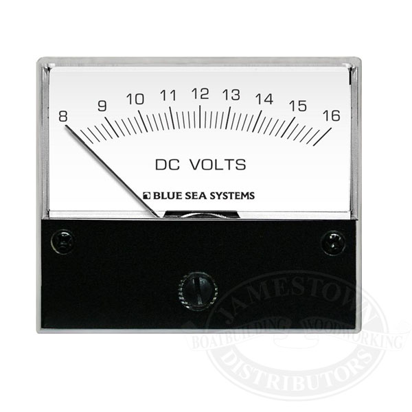 Blue Sea Systems DC Analog Voltmeter
