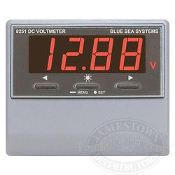 Blue Sea Systems DC Digital Voltmeter w/ Alarm