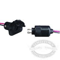 Marinco Connectpro 2 Wire Trolling Motor Plug Receptacle Kit