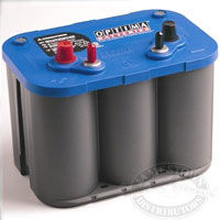 Optima Blue Top AGM 34M Battery
