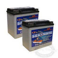 DEKA Personal Watercraft AGM Battery for jet skis, sea doo etc