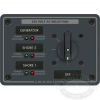 Blue Sea Systems AC Rotary Switch Panel