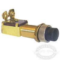 Brass Push-Button starter and horn switch