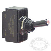 Tip Lit Toggle Switch
