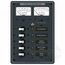 DC 5 Toggle Position Circuit Breaker Panel