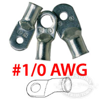 Ancor Marine Grade 1/0 AWG Battery Cable Lugs