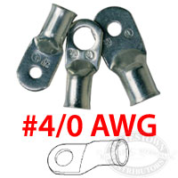 Ancor Marine Grade 4/0 AWG Battery Cable Lugs
