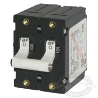 Blue Sea Systems AA2 Double Pole Circuit Breakers