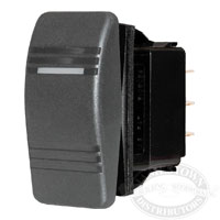 Blue Sea Systems Waterproof Contura Switches - Black