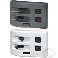 Blue Sea Systems WeatherDeck 2 Position DC Fuse Panel