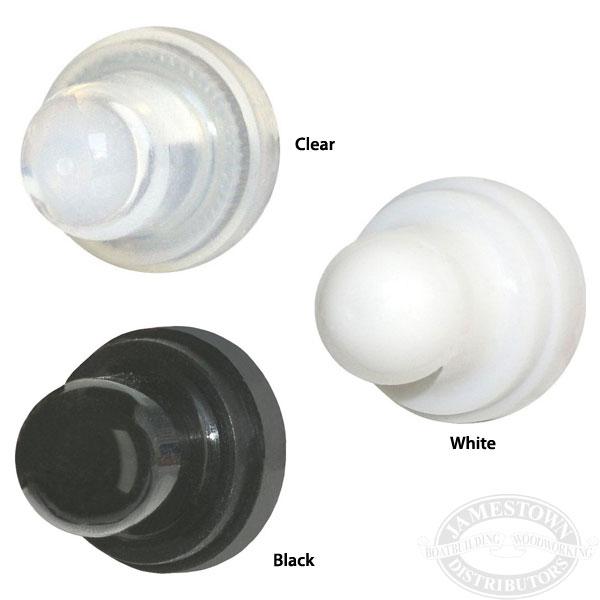 Blue Sea 4137 Black Push Button Circuit Breaker Boot Pack of 2