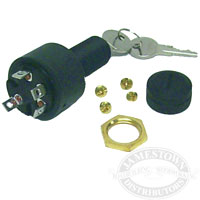 Sierra 4 Position Accessory-Off-Run-Start Ignition Switch
