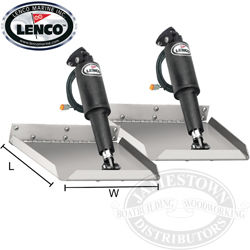 Lenco Electric Edge Mount Trim Tab Kits