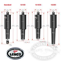 Lenco Trim Tab Actuator 15054-001