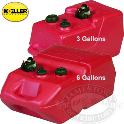 Moeller Ultra Portable fuel Tanks