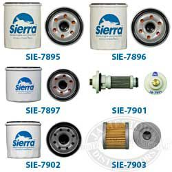 Sierra 4 Cycle Outboard Engine Oil Filters
