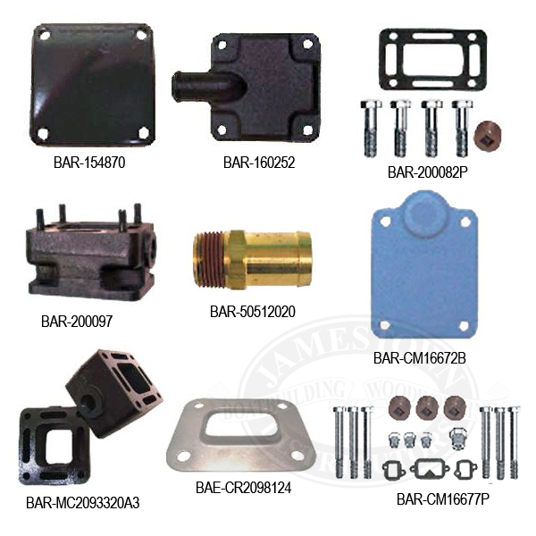 Barr Exhaust Manifold Hardware and Accessories