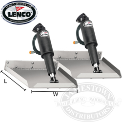 Lenco Edge Mount Trim Tab Kit