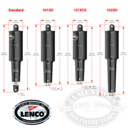 Lenco Replacement Actuators