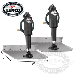 Lenco Electric Standard Mount Trim Tab Kits