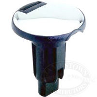 Attwood Round Plug-In Base for Pole Lights