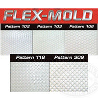 MAS Flex-Mold Non Skid Repair Patterns 102, 103, 106, 118, 309