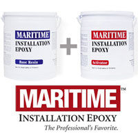Maritime Installation Epoxy for installing decks and floors on boats and yachts.