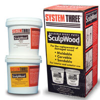 System Three SculpWood Epoxy Putty