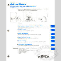 WEST System - Gelcoat Blisters - Diagnosis, Repair and Prevention Manual