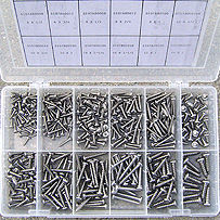 S/S Stainless Steel Self Tapping Phillips Pan Head Screw Kit