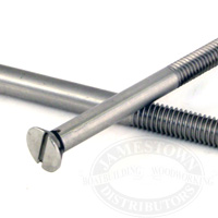 S/S Strut Bolt Flat Head Slotted
