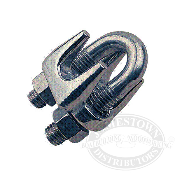Sea-Dog 316 Stainless Steel Wire Rope Clamps