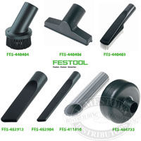 Festool Vacuum Special Nozzles and Brushes