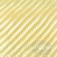 Twill weave kevlar cloth drapes around corners and wets out easier than plain weave kevlar cloth