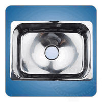 Scandvik Rectangular Mirror Finish Sink