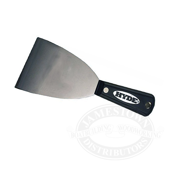 Hyde Tools Black & Silver Series Scraper