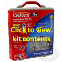 Crescent 170 Piece Professional Mechanics Tool Set