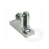 Whitecap Stainless Steel Angled Base Deck Hinges