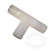White Nylon Hose Barb T-Fittings