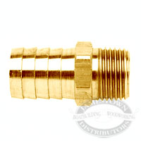 Midland Metals Brass Hose Barb Fittings