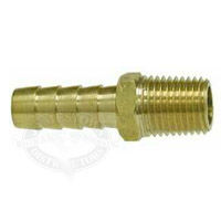 Brass Male Hose Barb Fittings