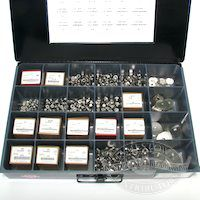 Assorted S/S stainless steel Nuts and Washers Kit