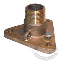 Groco Bronze Tri-Flange Adapter Base