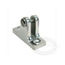 Stainless Steel Angled Base Deck Hinges
