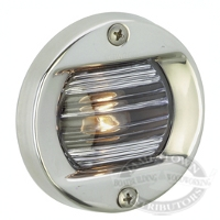 Attwood Flush Mount Stainless Steel Transom Light