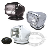 Stryker Searchlight w/Hard-Wired Dash-Mount Remote